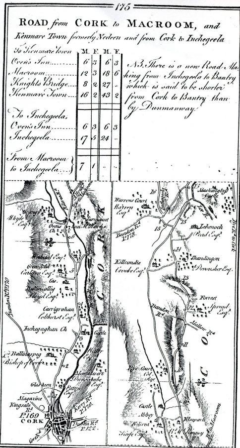 Ballincollig 1779 (source: Cork City Library)