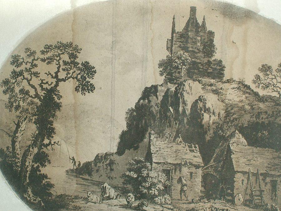 Carrigrohane Castle, Cork c.1790 (picture: Kieran McCarthy)