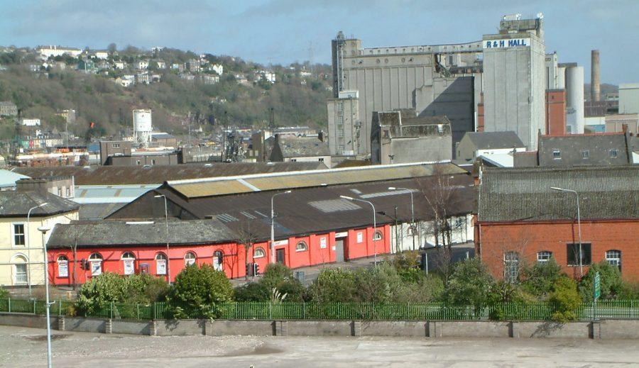Former City Termnus of Cork-Blackrock and Passage Railway Line, Albert Road, Cork, 2006 (picture: Kieran McCarthy)