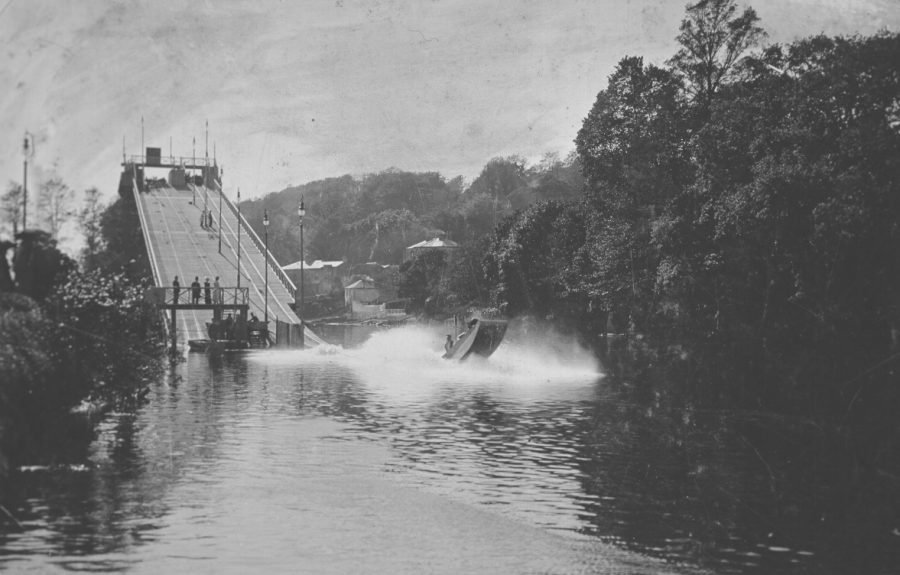 Great Chute, Cork International Exhibition, 1902 (source: Cork City Through Time by Kieran McCarthy and Dan Breen)