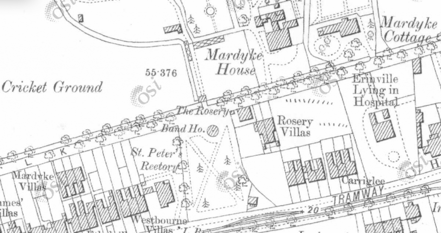 Band House or stand, Mardyke, c.1900 (source: Cork City Library)