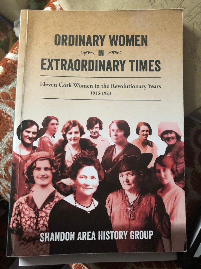 "Front cover of ""Ordinary Women in Extraordinary Times"" by Shandon Area Group, which chronicles the Cumann na mBan in Cork."
