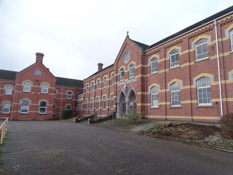 North Monastery School, North Monastery Road - early nineteenth century buildings, present day (picture: Kieran McCarthy)