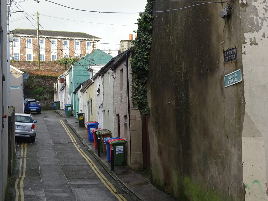 Farren Street off Gerald Griffin Street, one of the oldest laneways surviving in Blackpool, present day picture (picture: Kieran McCarthy)