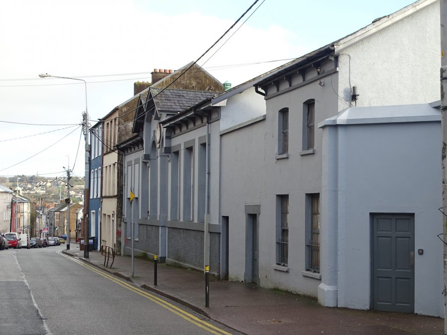 Former site of 1871 Infant School of Presentation Sisters, Gerald Griffin Street, present day (picture: Kieran McCarthy)