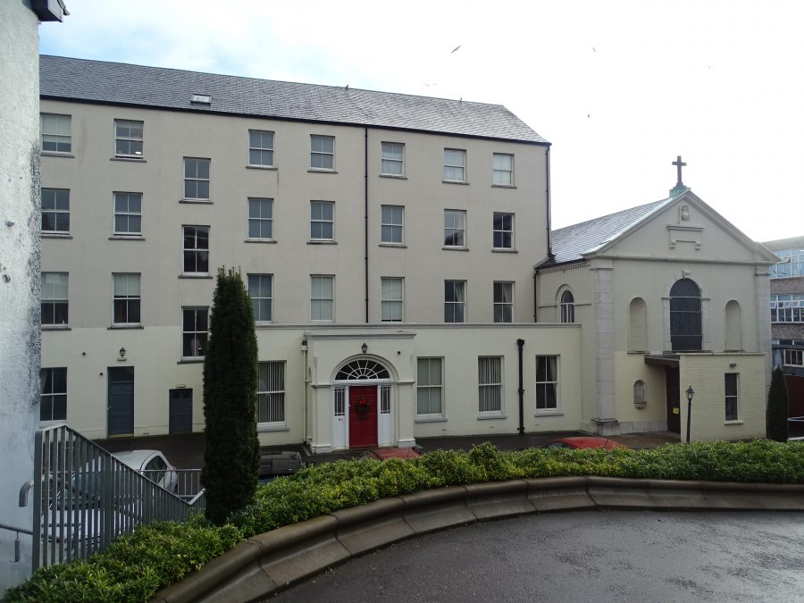 Presentation Sisters' Convent & Chapel, Gerald Griffin Street, present day (picture: Kieran McCarthy)