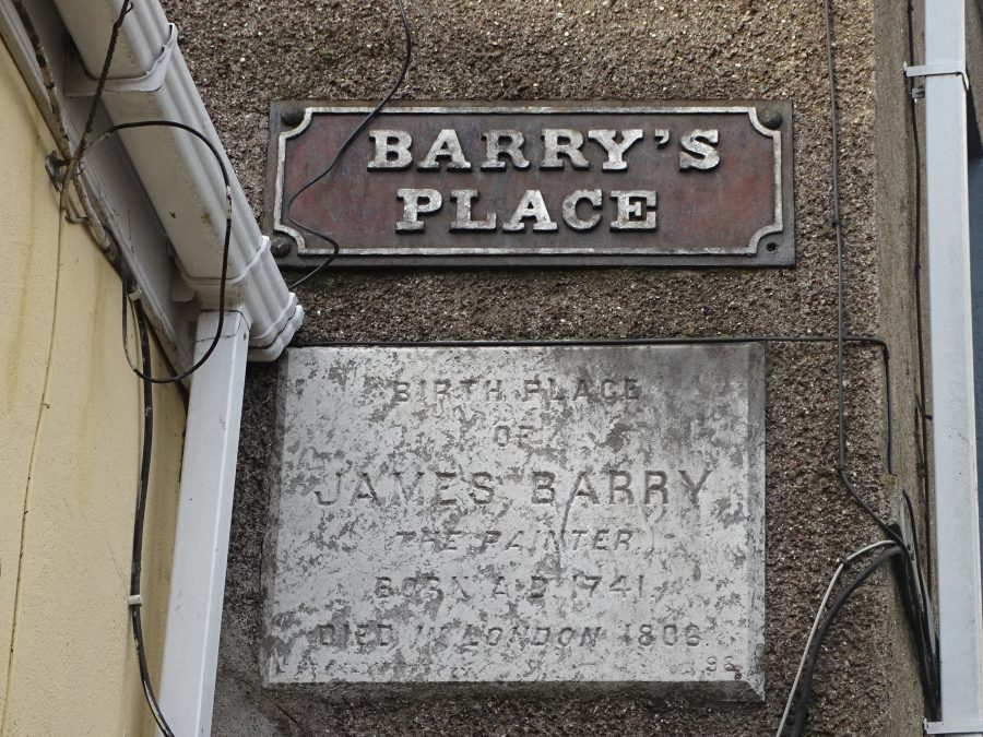 Barry's Place on Seminary Road, former Water Lane - formerly James Barry's birthplace (picture: Kieran McCarthy)
