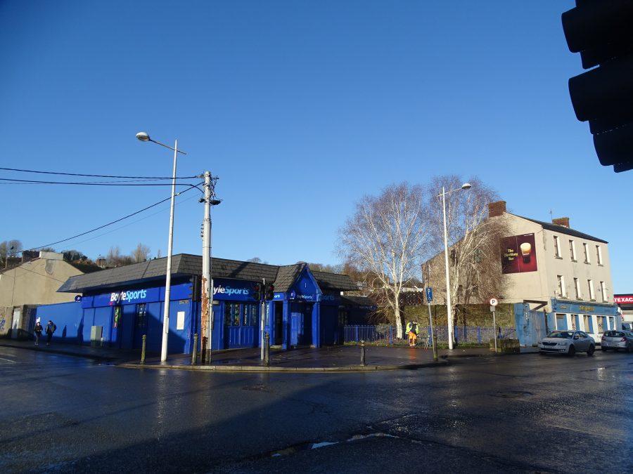 Former workshop site of Seamus Murphy, present day (picture: Kieran McCarthy)