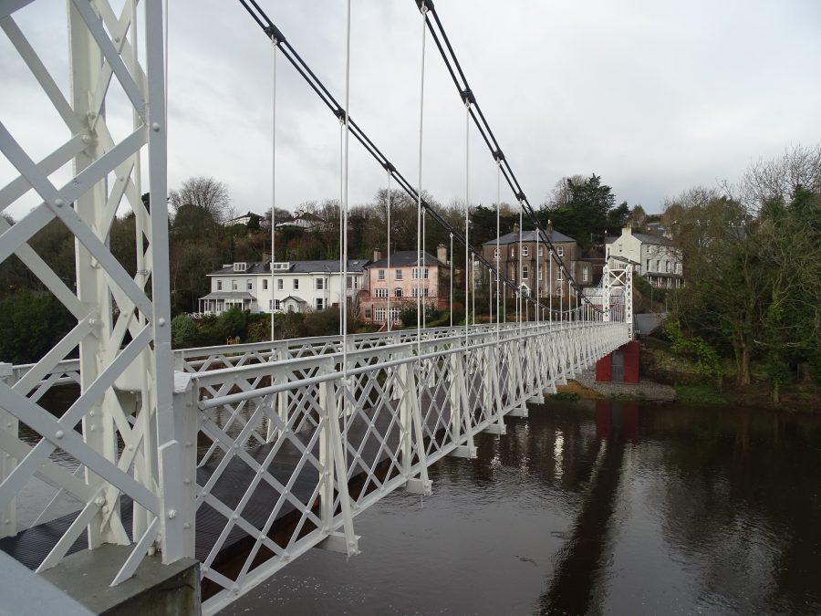 Daly's Bridge, post refurbishment, present day (picture: Kieran McCarthy)