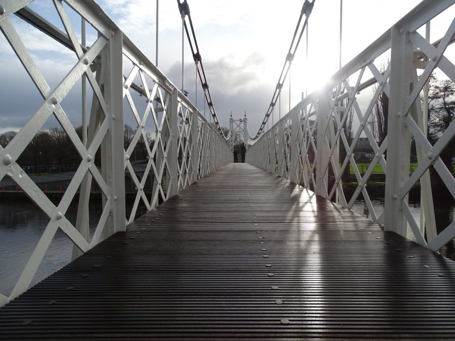 Daly's Bridge, AKA Shakey Bridge, Cork, post refurbishment, present day (picture: Kieran McCarthy)