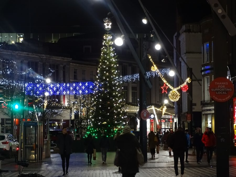 Christmas on St Patrick's Street, December 2020 (picture: Kieran McCarthy)