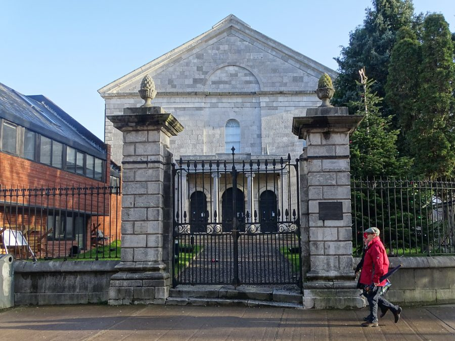 Front entrance of Christ Church, Cork, present day (picture: Kieran McCarthy)