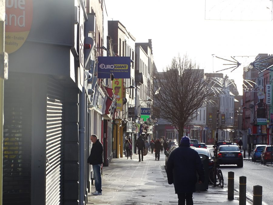 North Main Street, present day from Kyle Street (picture: Kieran McCarthy)