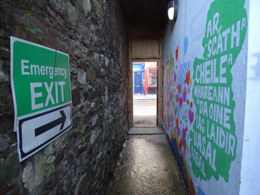 Colman's Lane, North Main Street, present day (picture: Kieran McCarthy)