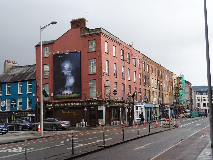 Picture of part of Washington Street, present day (picture: Kieran McCarthy)
