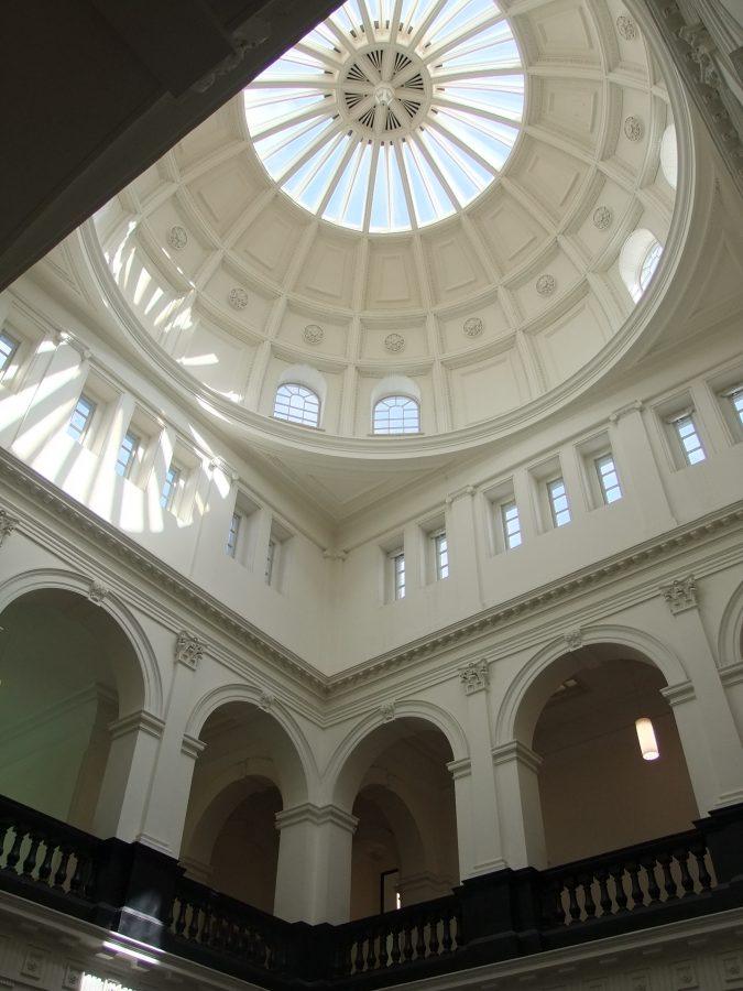 Interior picture of dome in Cork Court House, present day (picture: Kieran McCarthy)