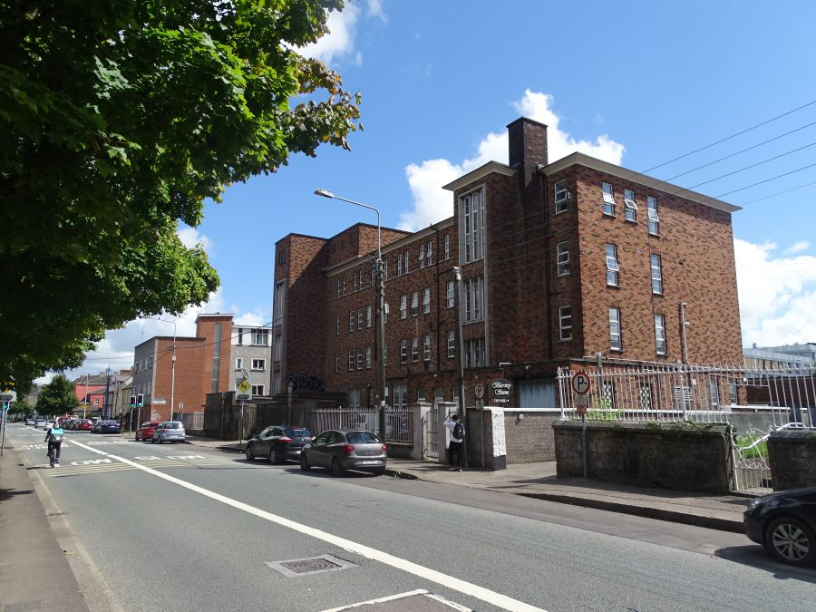 Former Erinville Hospital, Mardyke, Cork, constructed in the 1960s and still offices of the HSE present day (picture: Kieran McCarthy)