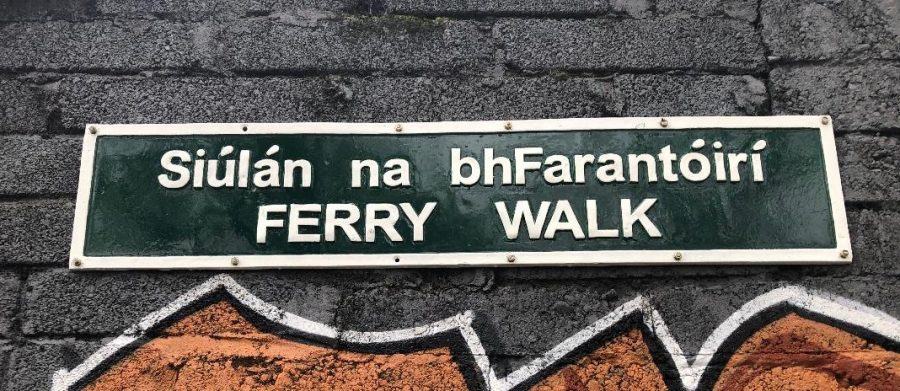The old Ferry is now immortalised in the the walkway Ferry Walk, which leads to Daly's Bridge (picture: Kieran McCarthy)