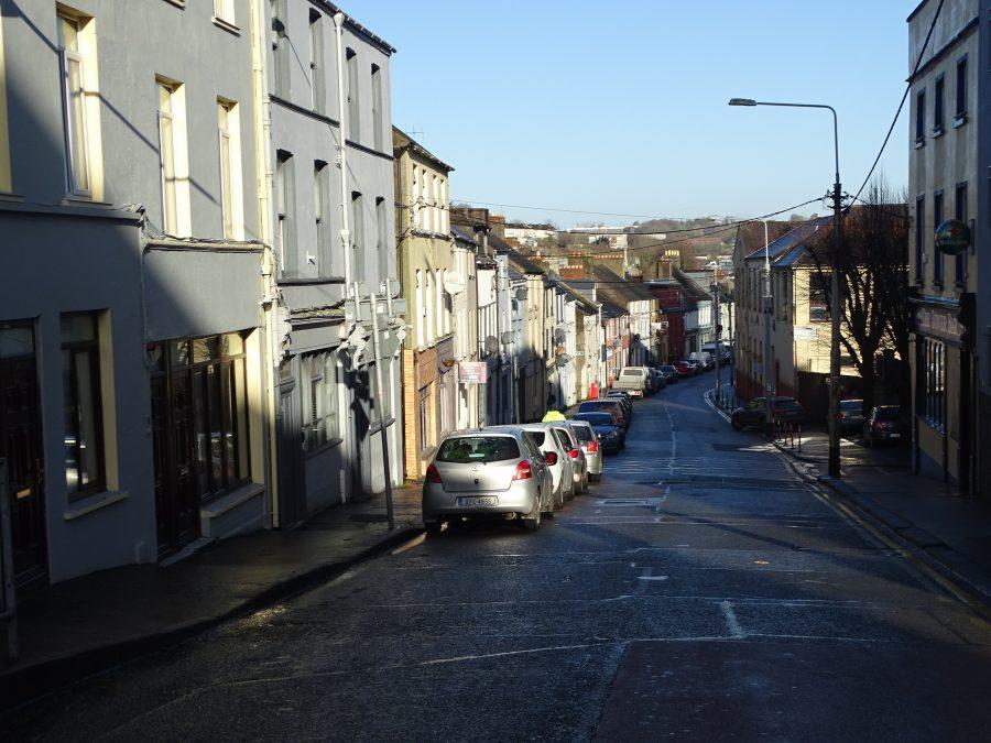 Gerald Griffin Street, Cork, present day (picture: Kieran McCarthy)