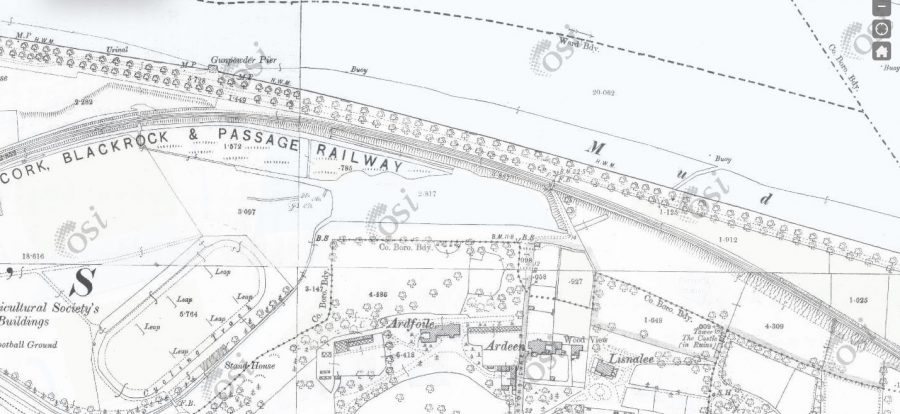 Atlantic Pond, post drainage and construction, OSI c.1910 (picture: Kieran McCarthy)