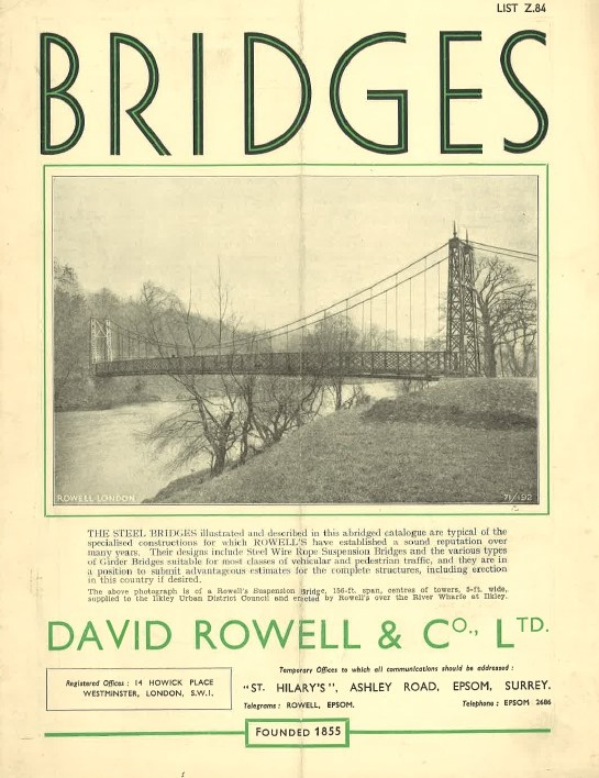 Rowell & Company Brochure page, Early Twentieth Century (Source: Cork City Council)