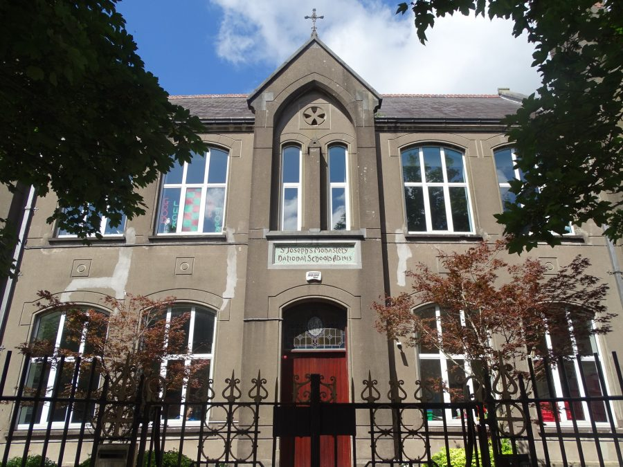 Facade of St Joseph's School, Mardyke, Cork, present day (picture: Kieran McCarthy)