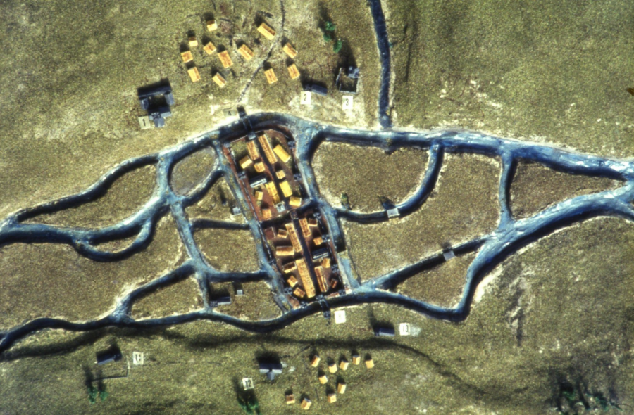 Re-imagining the Walled Town of Cork (source: Cork Public Museum Archive)
