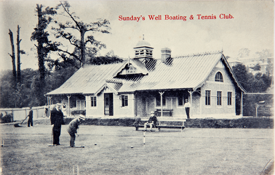 Sunday's Well Boating and Tennis Club, c.1910 (source: Cork City Through Time by Kieran McCarthy and Dan Breen)