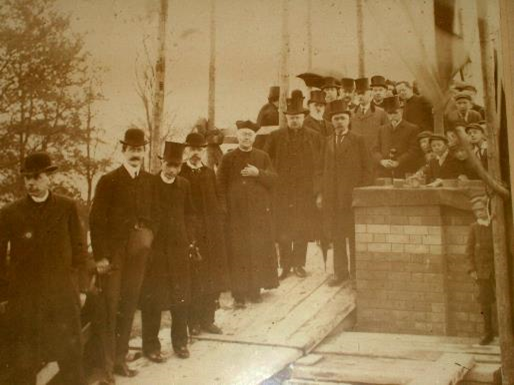 Fitzgerald's Park Committee, 1905 (source: Cork City Library)