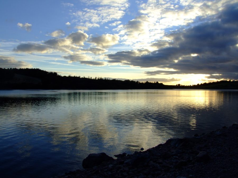 Inniscarra Reservoir, River Lee Valley, County Cork, September 2007 (picture: Kieran McCarthy)