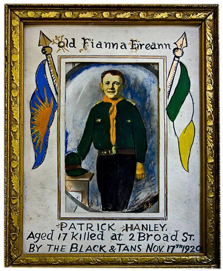 Portrait of Patrick Hanley 1920 (source: Cork City Library)