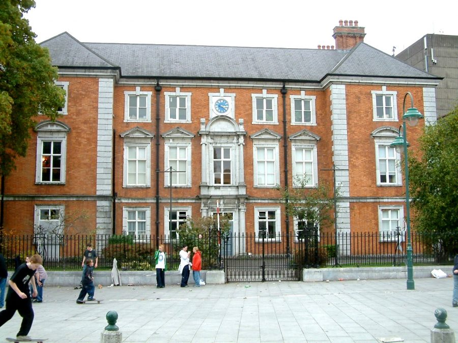 Former Custom House now part of Crawford Art Gallery, present day (picture: Kieran McCarthy)