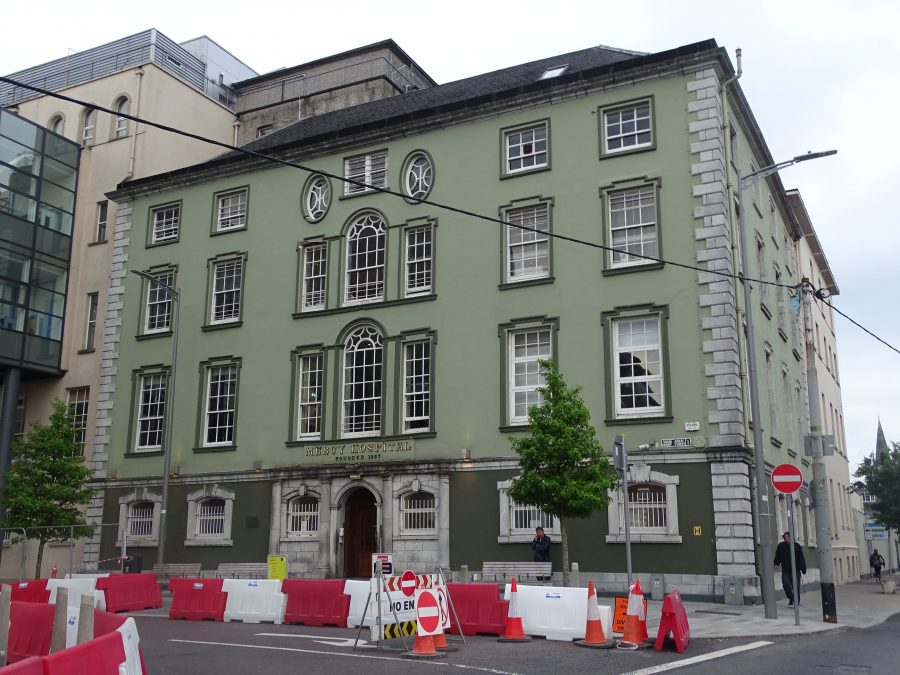 Mercy Hospital, former Mansion House, Cork, present day (picture: Kieran McCarthy)