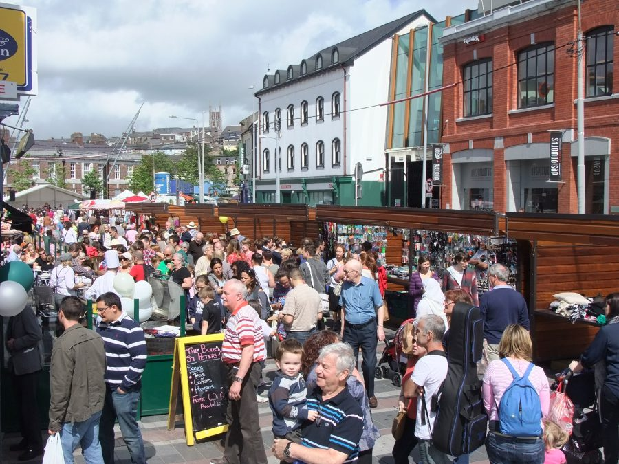 Coal Quay Festival organised annually by the Coal Quay Historical Society and the Coal Quay Shawlies with Cork City Council, 2012 (picture: Kieran McCarthy)