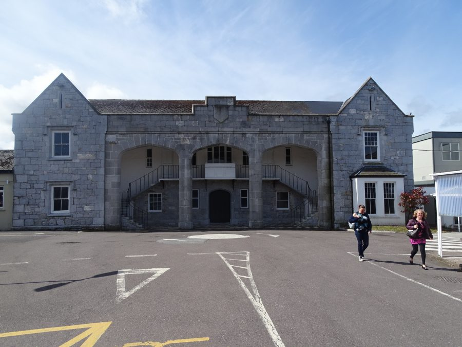 Former Admissions Lodge of Cork Union Workhouse, now within St Finbarr's Hospital, Douglas Road, Cork, present day (picture: Kieran McCarthy)