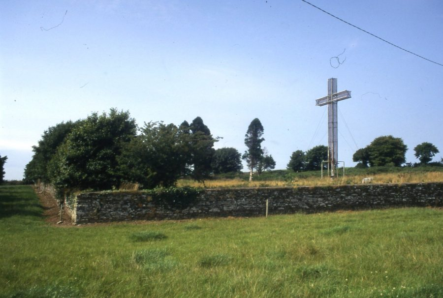 Graveyard at Carr's Hill, Cork, present day (picture: Kieran McCarthy)