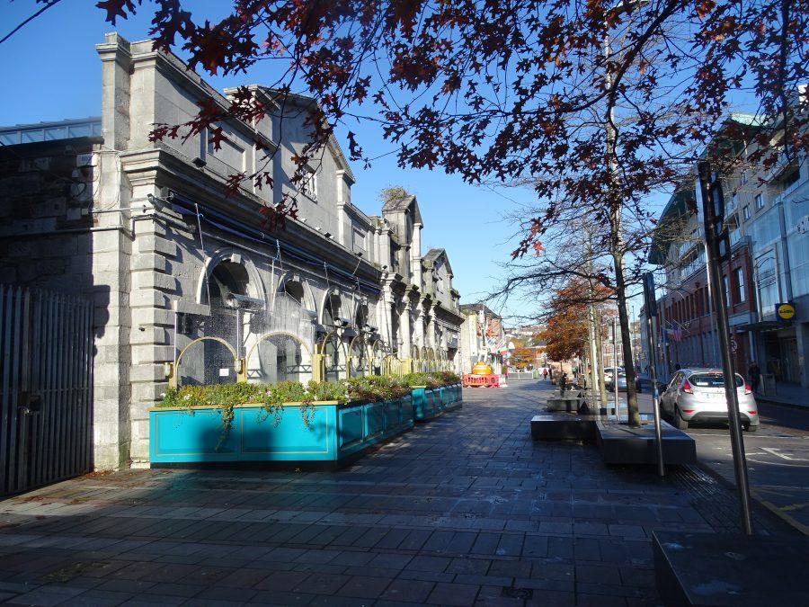 Former Corn Market Building, built 1740s, present day (picture: Kieran McCarthy)