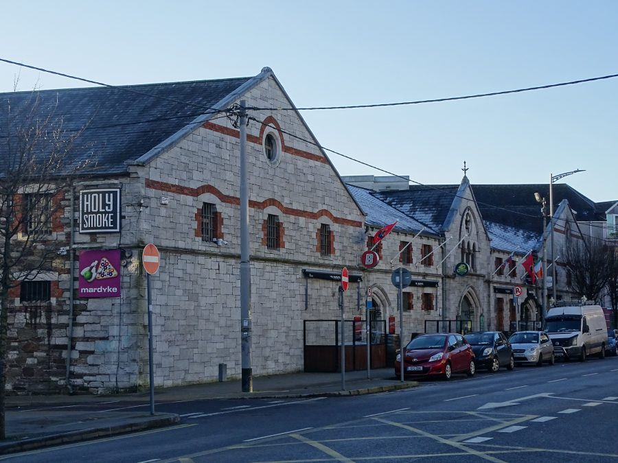 Mardyke Entertainment Centre, formerly a bonded warehouse of Woodford and Bourne, present day (picture: Kieran McCarthy)