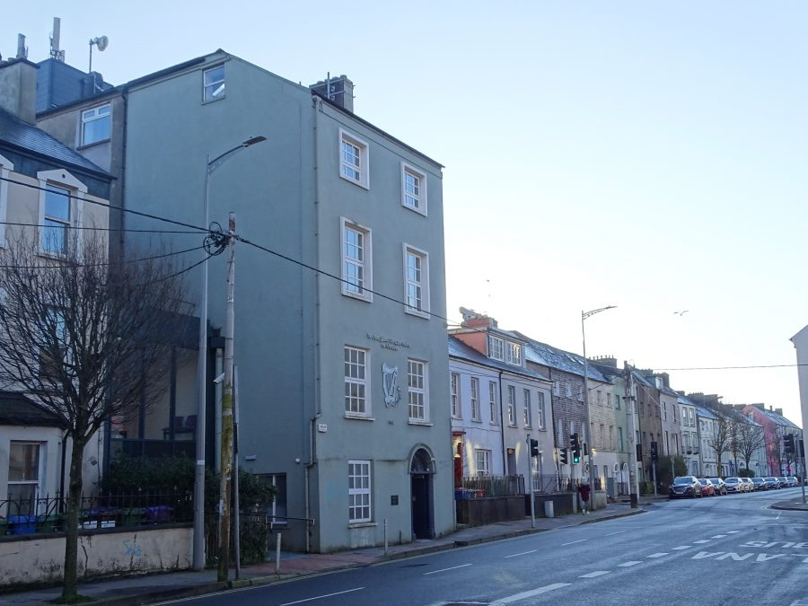 Former Volunteer Hall, Sheares Street, Cork, present day (picture: Kieran McCarthy)