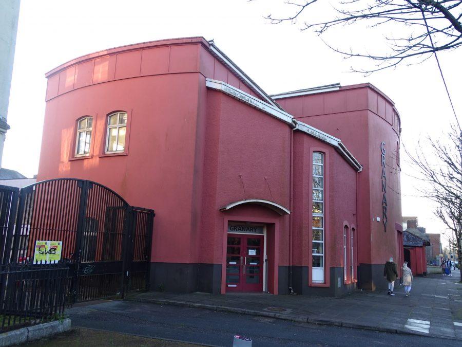 UCC's Granary Theatre, Dyke Parade, present day (picture: Kieran McCarthy)