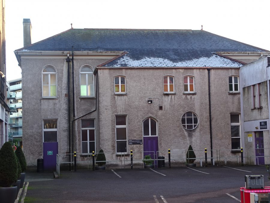 Former Presentation Brothers Secondary School, Western Road, now in ownership of UCC, present day (picture: Kieran McCarthy)
