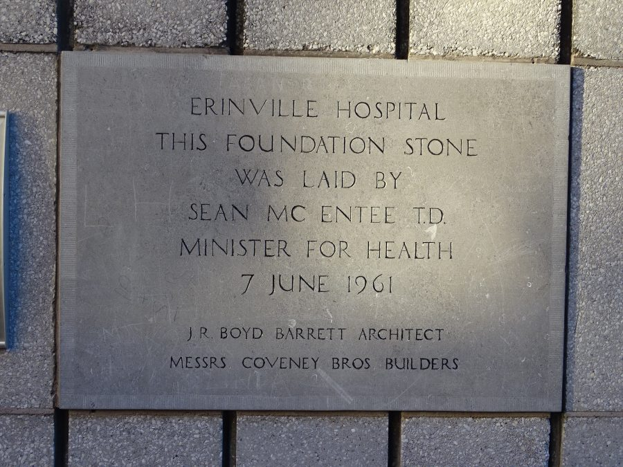 Erinville Hospital Foundation Stone, Dyke Parade, 1961, present day (picture: Kieran McCarthy)