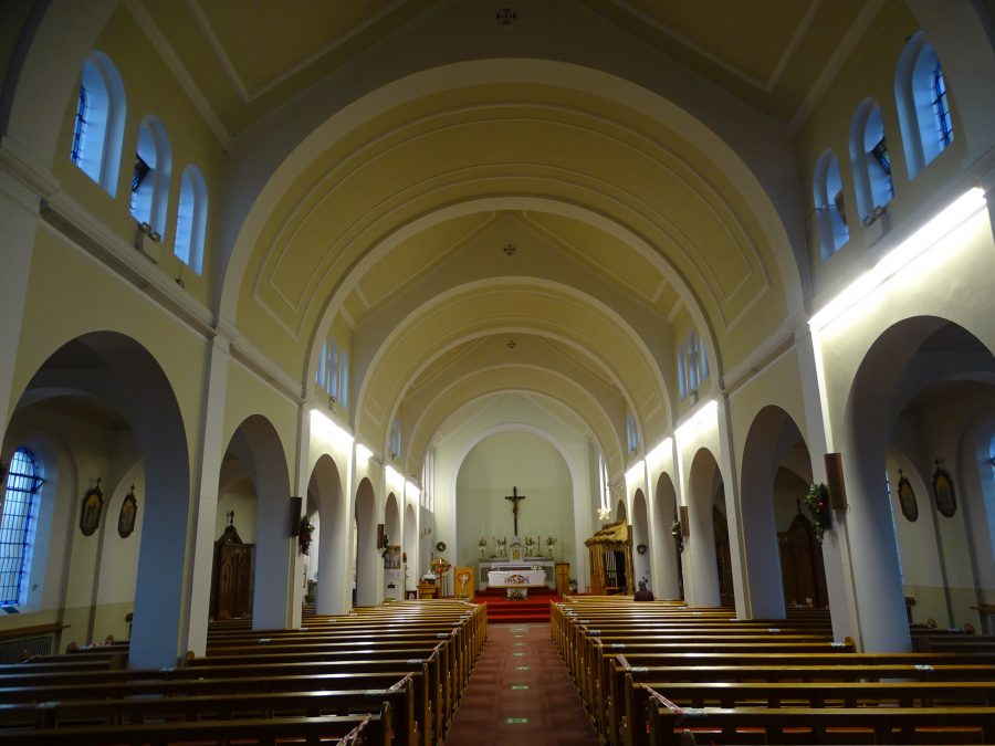 Interior of Sacred Heart Church, Cork, present day (picture: Kieran McCarthy)