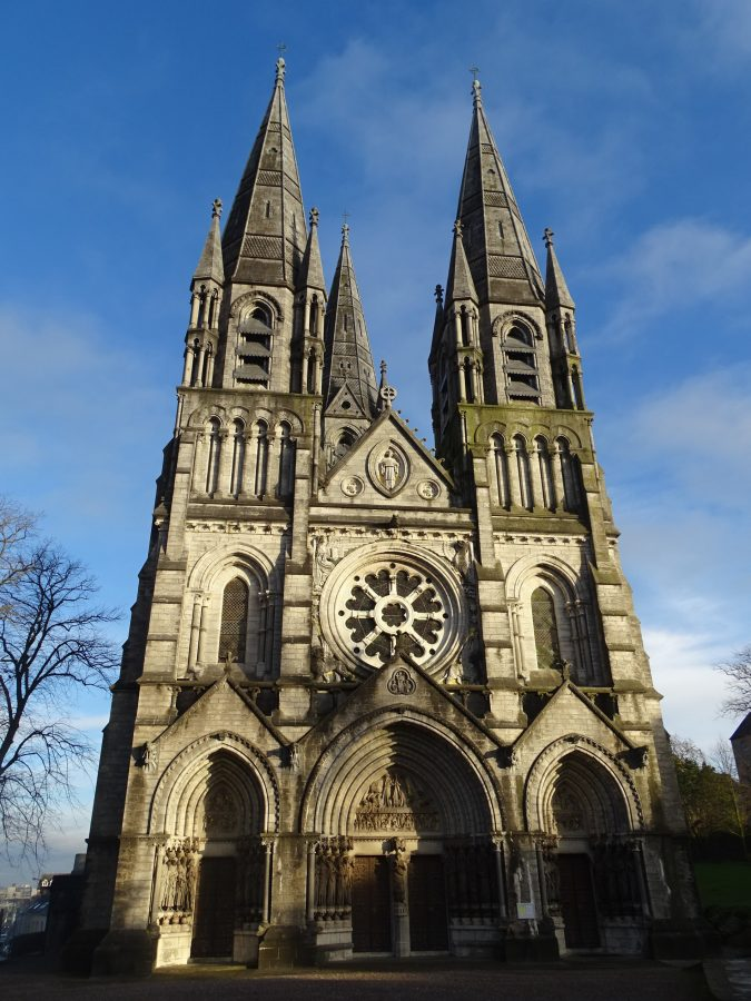 Western face, St Finbarre's Cathedral, present day (picture: Kieran McCarthy)