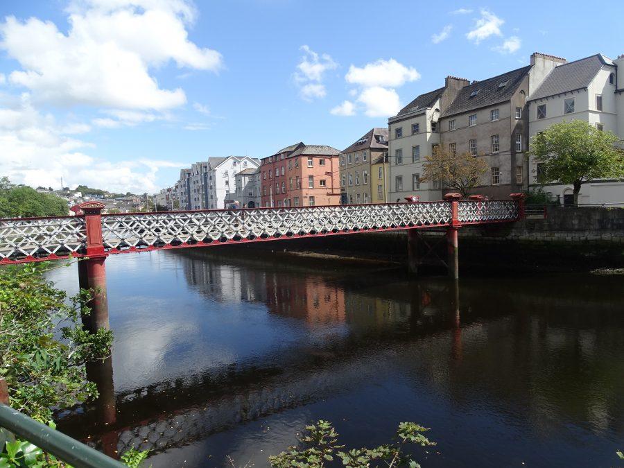 St Vincent's Bridge, Cork, present day (picture: Kieran McCarthy)