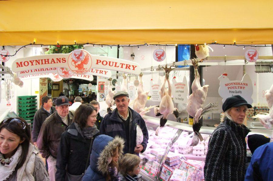 Christmas in the English Market, Cork (picture: Kieran McCarthy)