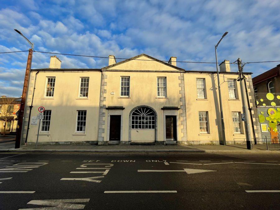Former Quaker meeting house, Grattan Street, Cork, 1833-1939 (picture: Kieran McCarthy)
