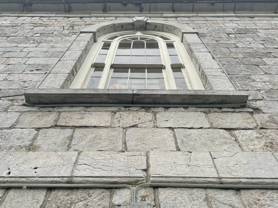 One of the south facing window of former St Paul's Church, present day (picture: Kieran McCarthy)