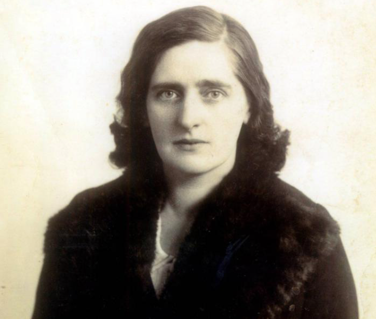 Kathy Barry in her younger years (source: Cork City Library)