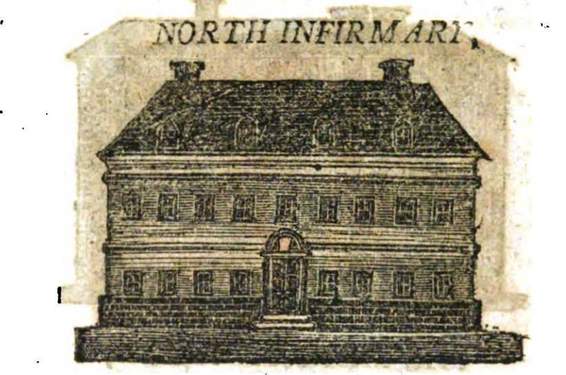 North Infirmary, Cork, 1810 from William West, A Directory and Picture of Cork and its Environs (source: Cork City Library)